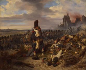 Hippolyte Bellangé - Image: Scène de bataille Chasseurs de la Garde