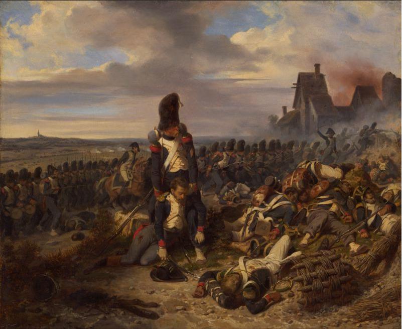 Scène de bataille Chasseurs de la Garde