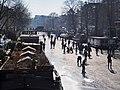 Schaatsen op de Prinsengracht in Amsterdam foto13.jpg