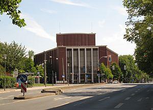 Peter Zadek - Front view of Schauspielhaus Bochum