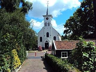 Schellingwoude Neighbourhood of Amsterdam in North Holland, Netherlands