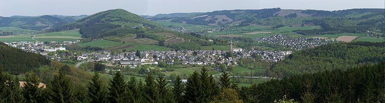 The panorama of Schmallenberg