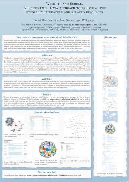 File:ScidataCon 2018 poster 168 - WikiCite and Scholia - a Linked Open Data approach to exploring the scholarly literature and related resources.pdf