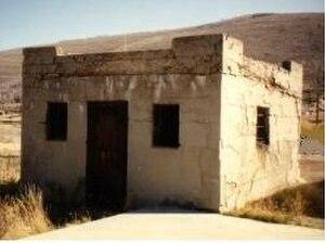 Scofield, Utah - Scofield Utah's historic jail
