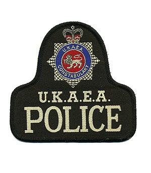 UK Atomic Energy Authority Constabulary - Constabulary's patch