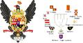 Scudo di Carlo III di Sicilia - analisi illustrata.png