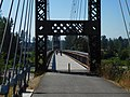 Sculptured bridge for non motorized transport, Winthrop, WA. (36917797541).jpg