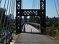Sculptured bridge for non motorized transport, Winthrop, WA. (36917797541).jpg