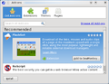 SeaMonkey 2 Addons Dialog.png