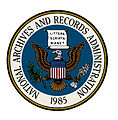 Seal of the National Archives and Records Administration (color with partial blue background).jpg