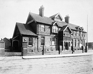 London School of Hygiene & Tropical Medicine - The Albert Dock Seamen's Hospital in the early 20th century.