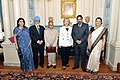 Secretary Clinton With Indian Ministers and Ambassador (4727935555).jpg