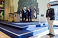 Secretary Kerry Walks Off the Stage After Addressing Reporters With Israeli President Rivlin (22980573070).jpg