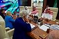Secretary Kerry and His Team sit Across From Saudi Arabia Crown Prince Muhammad bin Nayef, Deputy Crown Prince, Mohammad bin Salman Al Saud, Foreign Minister Adel al-Jubeir (28919626540).jpg