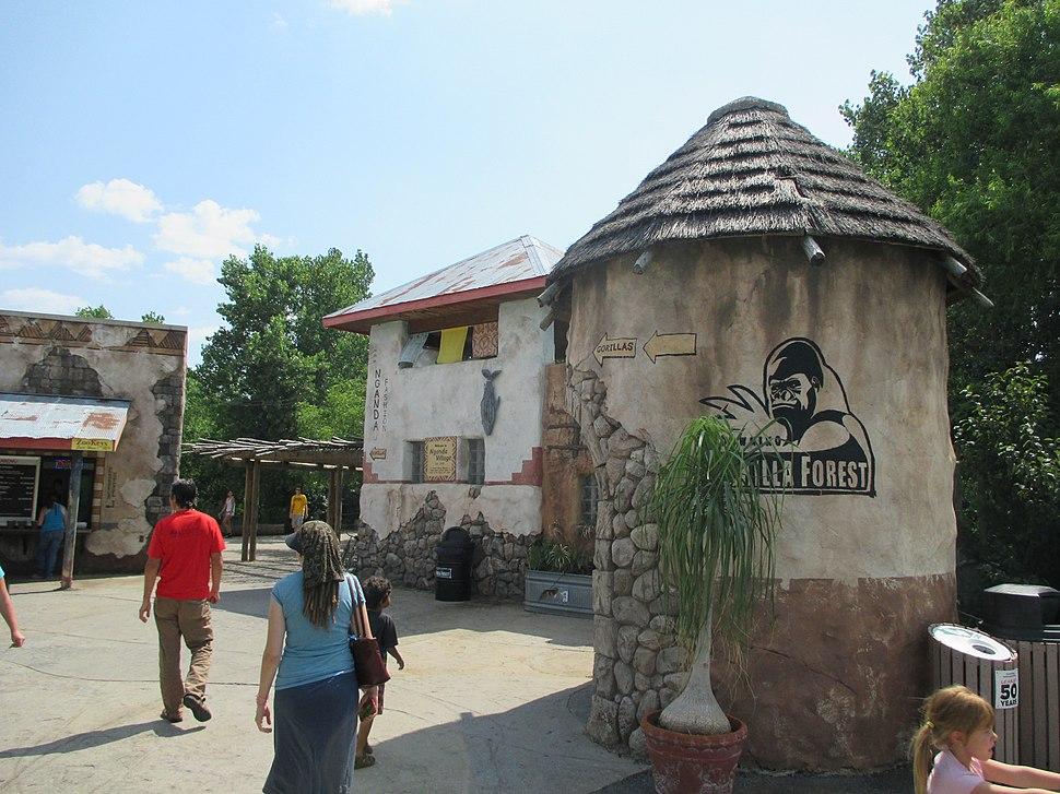 Sedgwick County Zoo Gorilla Village 2013