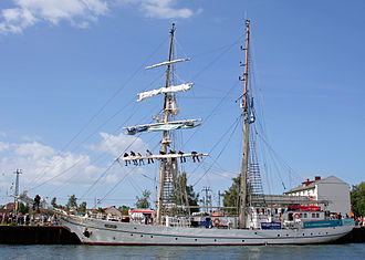 """Hanse Sail - Greif at """"Hanse Sail 2008"""""""