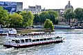 Seine river by vedettes, Paris 24 May 2014.jpg