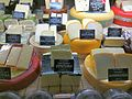 Selection of cheese at Sydney deli shop 02.jpg
