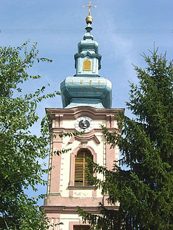 Seleuš, Romanian Orthodox church.jpg