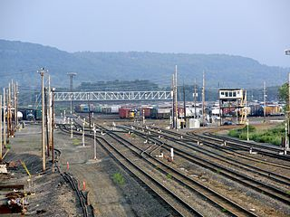 rail line in New York State