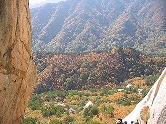 Seoraksan National Park - Image: Seoraksan 3