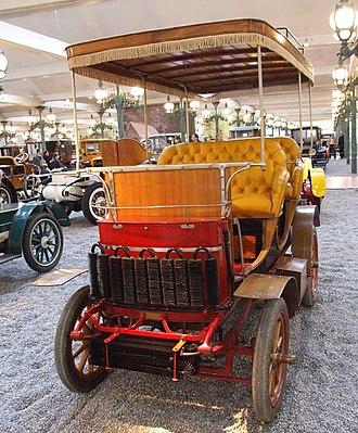 Cité de l'Automobile - Image: Serpollet Double Phaeton Type A 1902
