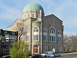 History of the Jews in Baltimore - Shaarei Tfiloh Synagogue