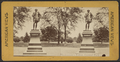 Shakespeare's statue, Central Park, from Robert N. Dennis collection of stereoscopic views.png