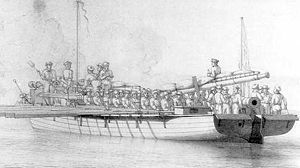 Gunboat War - Danish shallop gunboat