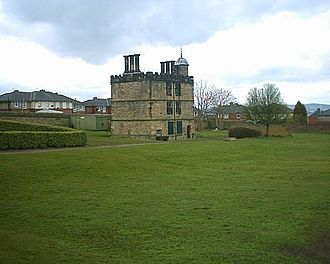 1510s in architecture - Turret House at Sheffield Manor