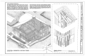 Sheldon Jackson College, Richard H. Allen Memorial Hall, Lincoln Street, Sitka, Sitka Borough, AK HABS AK,17-SITKA,4A- (sheet 3 of 19).png