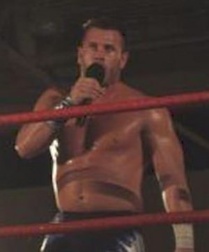 Alex Shelley - Shelley in the ring at a PWG show in 2006
