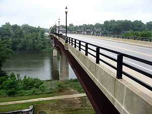 Shepherdstown, West Virginia - Image: Shepherdstown Bridge