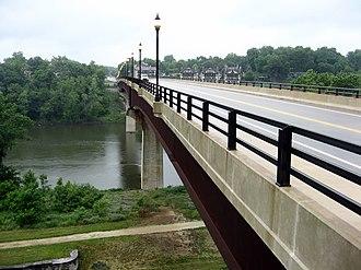 Shepherdstown, West Virginia - Image: Shepherdstown Bridge