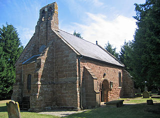 St Ediths Church, Shocklach Church in Cheshire, England