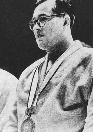 World Judo Championships - The first World Judo Champion, Shokichi Natsui in 1956