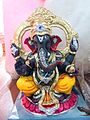 Shree Ganesh Images - A special Lord Ganesh image on display at a Ganesh Chaturthi idol shop.jpg