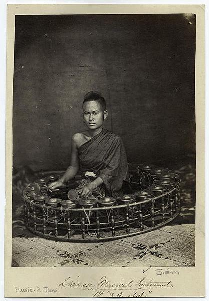 File:Siamese musical instrument -- the bell wheel (Khong ... Khawng Wong Lek