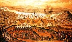 Siege of Buda 1686 Frans Geffels