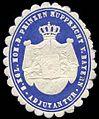 Siegelmarke Adjutantur Seiner Königlichen Hoheit des Prinzen Rupprecht von Bayern W0234907.jpg