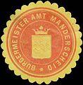Siegelmarke Bürgermeister Amt Manderscheid W0383450.jpg