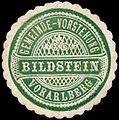 Siegelmarke Gemeinde-Vorstehung Bildstein - Vorarlberg W0261307.jpg