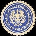 Siegelmarke Königliche Schullehrer Seminar zu Pölitz W0214023.jpg