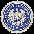 Siegelmarke Kaiser-Wilhelms-Gymnasium zu Trier W0313866.jpg