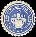 Siegelmarke Magistrat der Stadt Triebel W0260264.jpg