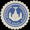 Siegelmarke Magistrat der Stadt Wittenberge W0342652.jpg