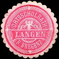Siegelmarke Ortsschulrath Langen bei Bregenz W0261048.jpg