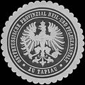 Siegelmarke Ostpreussische Provinzial Heil- und Pflegeanstalt Tapiau W0343896.jpg