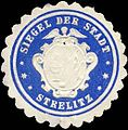 Siegelmarke Siegel der Stadt Strelitz W0226428.jpg