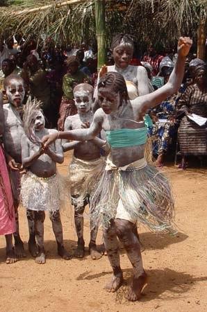 Sierra Leone Koindu dance